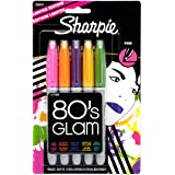 Sharpie Fine-Point Permanent Markers, 5-Pack Limited-Edition Colored Markers (30631)
