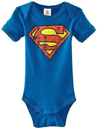2c8f4d6f12255 Logoshirt Superman - Logo - Body bébé  Amazon.fr  Vêtements et accessoires