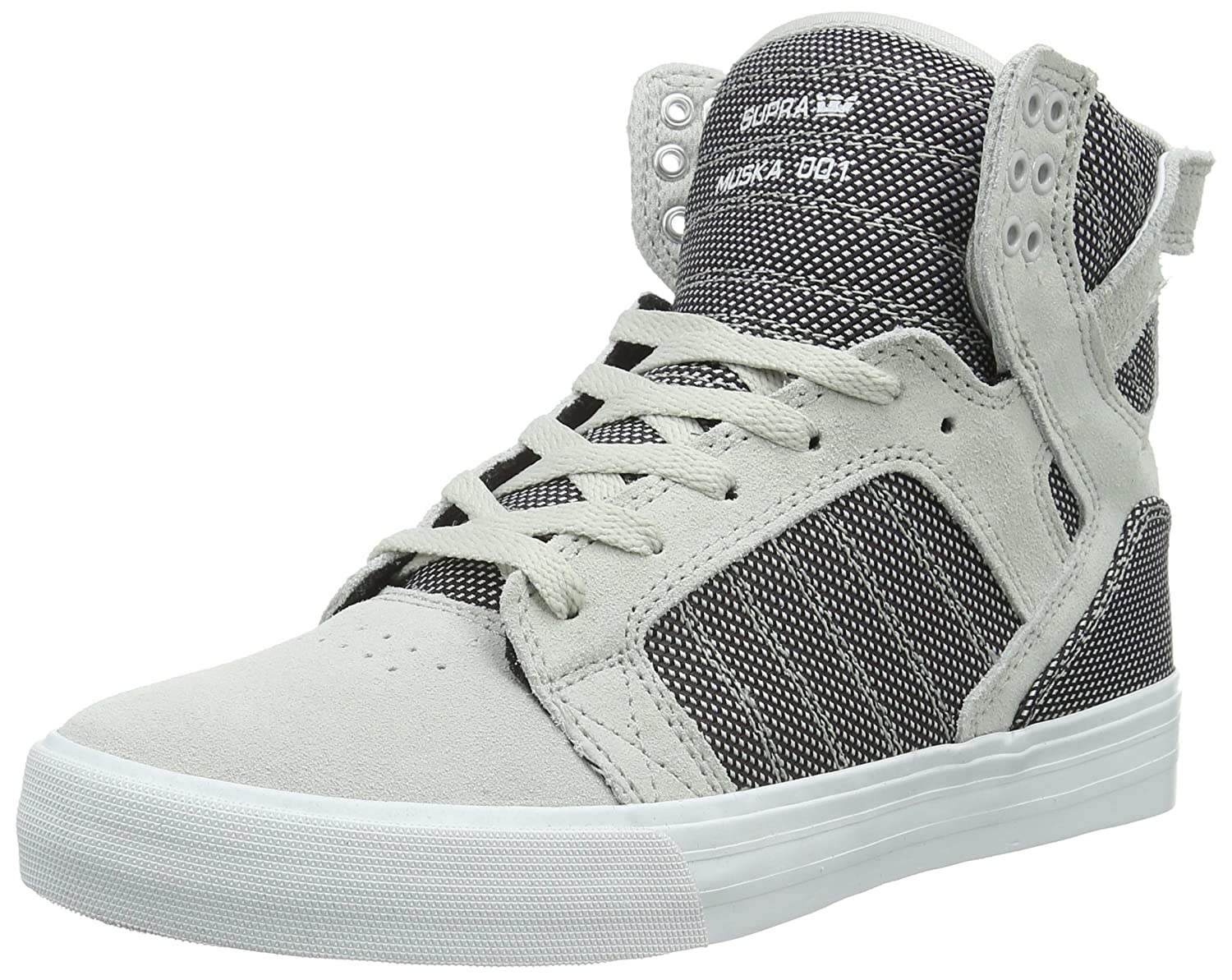 8fd60b7736a Supra Skytop Grey Violet Two-Tone/White Men's Skate Shoes: Buy Online at  Low Prices in India - Amazon.in