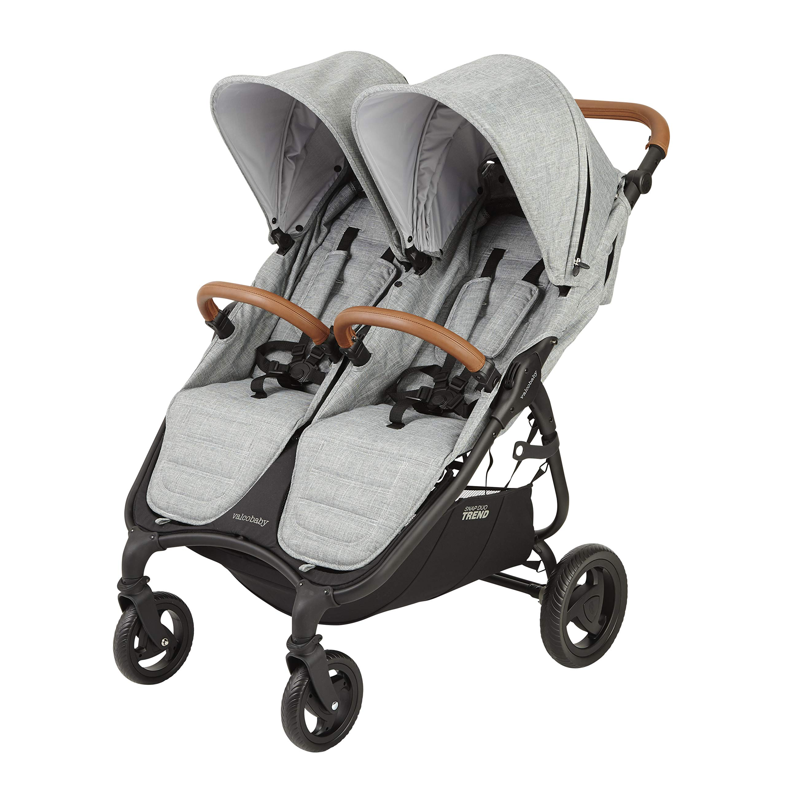 Valco Baby Snap Duo Trend Light Weight Double Stroller 2019 (Grey) by valco baby