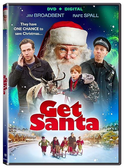 Amazon.com: Get Santa [DVD + Digital]: Jim Broadbent, Rafe Spall, Kit Connor, Ewen Bremner, Warwick Davis, Stephen Graham, Joanna Scanlan, Christopher Smith: Movies & TV