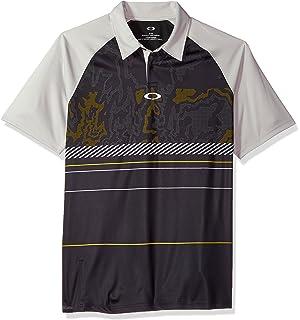 a8d20eb65cb Amazon.com  Oakley Men s Gaze Polo  Clothing