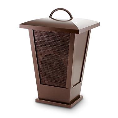 Fine Audio Bluetooth Speaker Lantern LED Lights, 7.75  x 7  x 11.75 , Copper