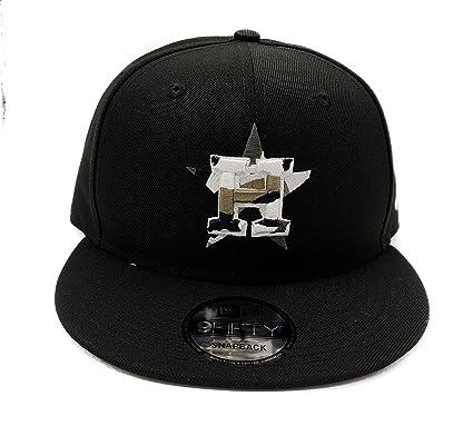 brand new 2672c 972f4 New Era Houston Astros 9Fifty Army Camo Trim Adjustable Snapback Hat