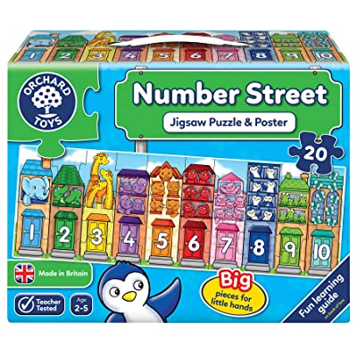 Orchard Toys Number Street Jigsaw Puzzle: Toys & Games