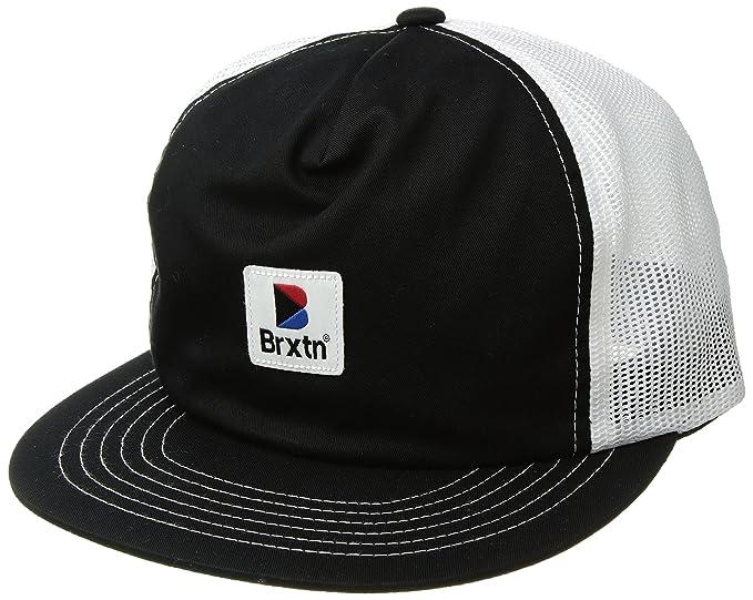 Amazon.com  Brixton Men s Stowell High Profile Mesh Snapback Hat ... f1a242f832f2