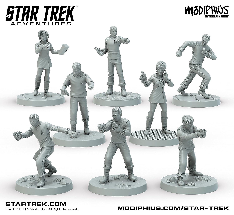 Star Trek Adventures Miniatures: The Original Series Bridge Crew