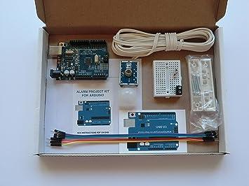 Kit de inicio de proyecto electrónico para Arduino. Arduino Uno R3 ATmega328P compatible con placa