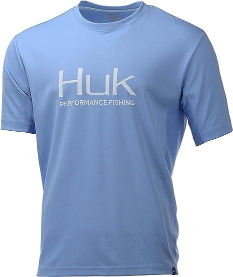 HUK Herren Icon X Camo Long Sleeve Shirt Sun Protection Lang/ärmelig Long-Sleeve Performance Shirt with UPF 30