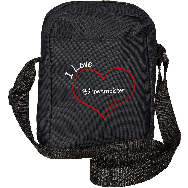 Modern I Love Stage Master Black Shoulder Bag