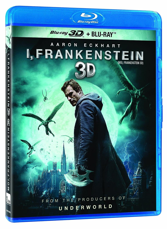 I, Frankenstein [Blu-ray 3D + Blu-ray] (Bilingual) Aaron Eckhart Bill Nighy Miranda Otto Virginie Le Brun