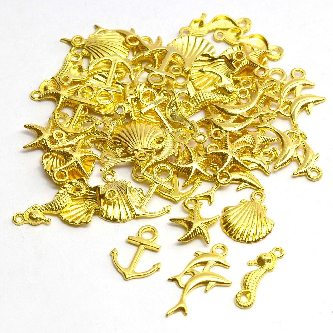 航空物理学者感動するNALER約115個ゴールド鈴 手芸用品 ベルスズ すず ハンドメイド小物 御守りに イベントひな祭り12mm