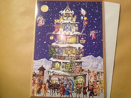 Felicitaciones navideñas Snowscene victorianas 99104 Richard ...