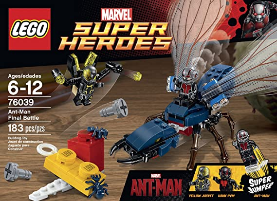 Superheroes Building Man Kit 76039 Lego Ant Marvel's vNw80mn