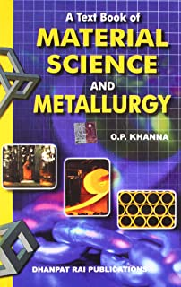 Buy Material Science & Metallurgy Book Online at Low Prices