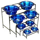 Platinum Pets Modern Double Diner Feeder with