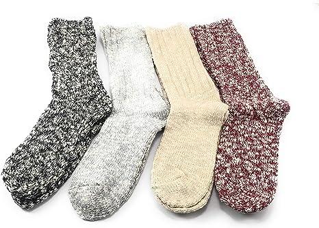 Weatherproof Vintage Marled Cotton Crew Boot Socks