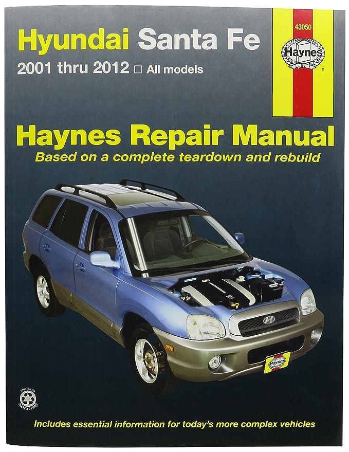 amazon com haynes vc0s2 43050 manuals 43050 hyundai sante fe 2001 rh amazon com Santa Fe Owner's Manual Ppi2pass