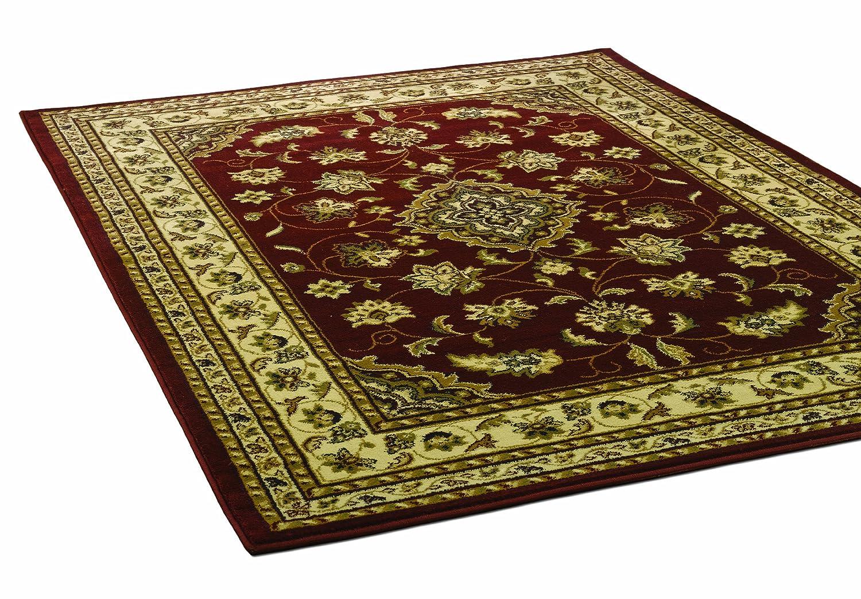 Flair Rugs Sherborne-Teppich, traditionelles Muster, grün, 160 x 230 cm B0040QDLH4 Teppiche