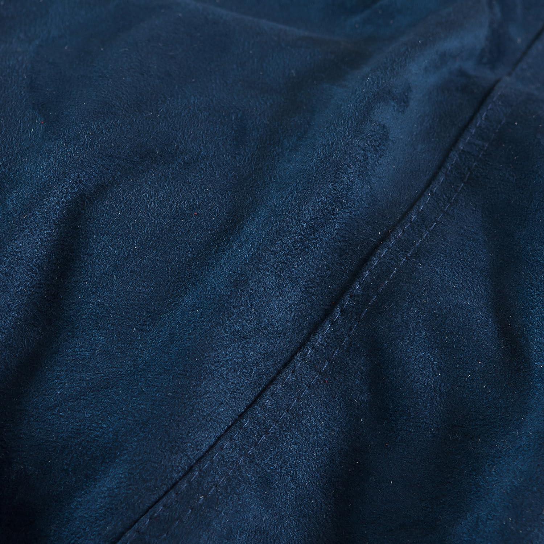 Best Selling Mason Faux Suede Bean Bag 5-Feet 053122AZ Brown Heavy Metal Inc