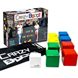Crazy Bocce Ball Set. Indoor and Outdoor Family Fun for Everyone. A Game for All Ages. Play it on All Surfaces!