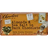 Chocolove Almonds and Sea Salt in Dark Chocolate, 3.2 oz
