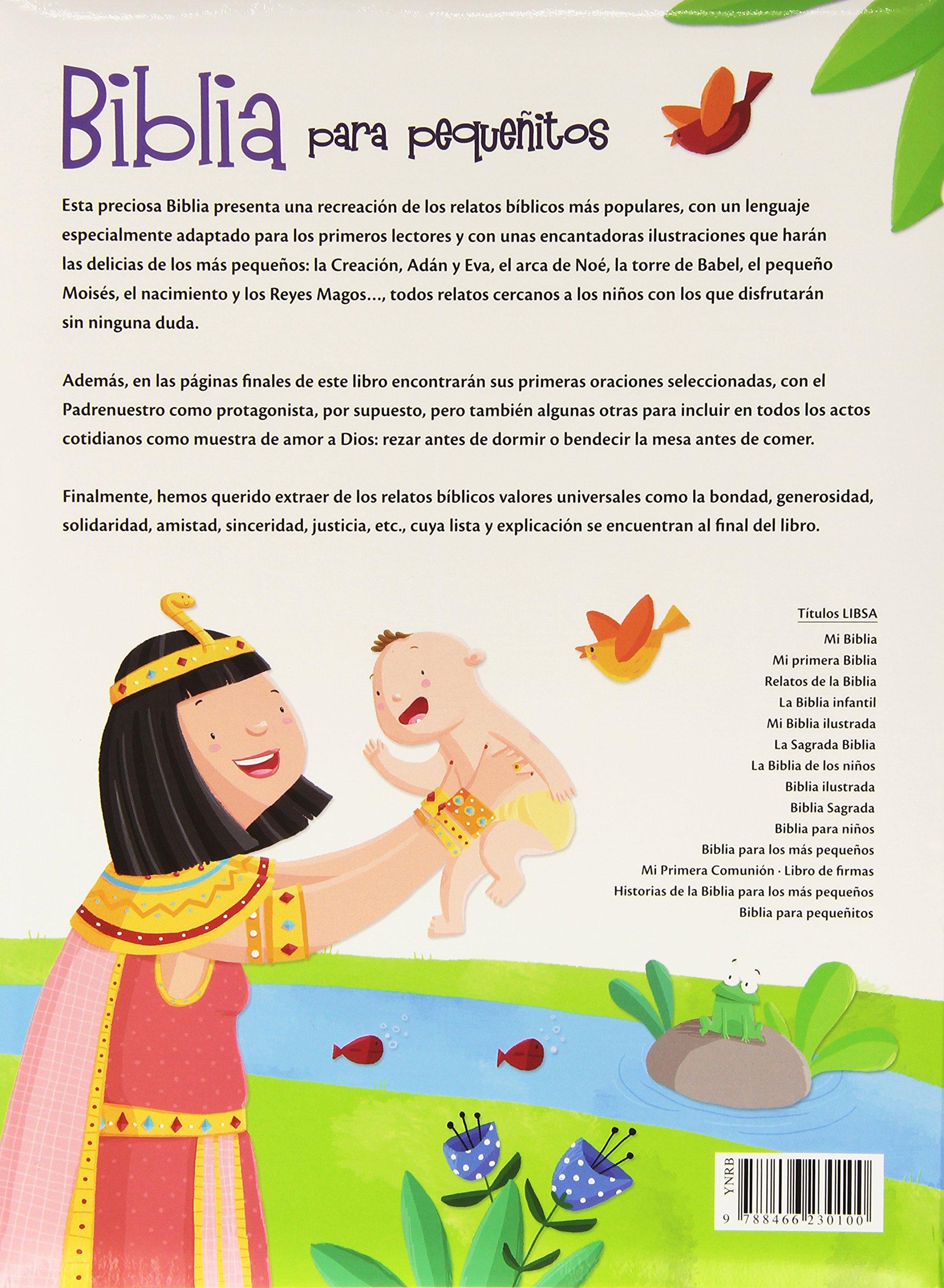 Biblia Para Pequeñitos (Biblias Infantiles): Amazon.es: Equipo Editorial: Libros