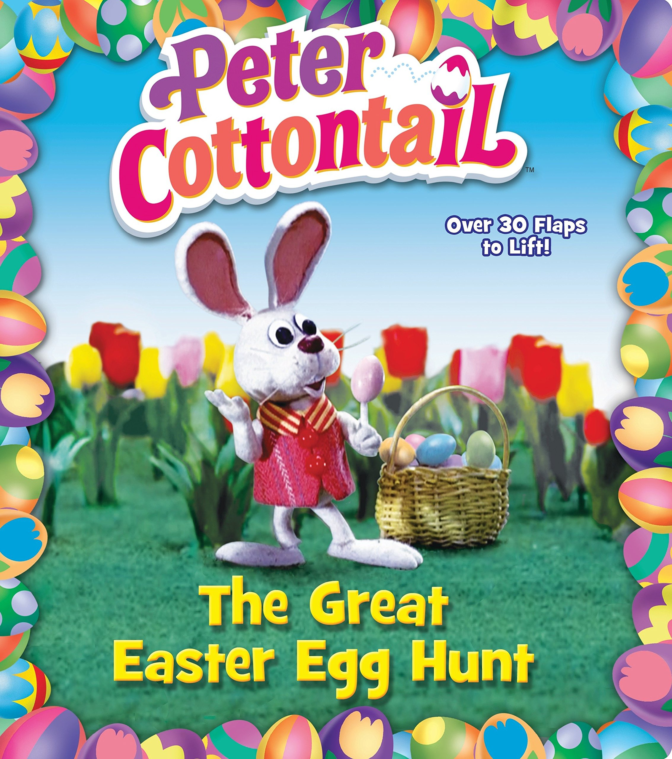Peter Cottontail: The Great Easter Egg Hunt (Peter Cottontail) (Lift-the-Flap):  Random House: 9781101931691: Amazon.com: Books