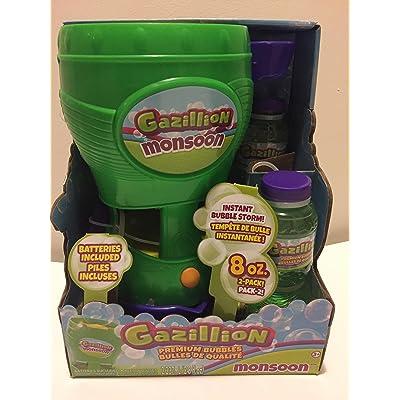 Gazillion Bubbles Monsoon: Toys & Games