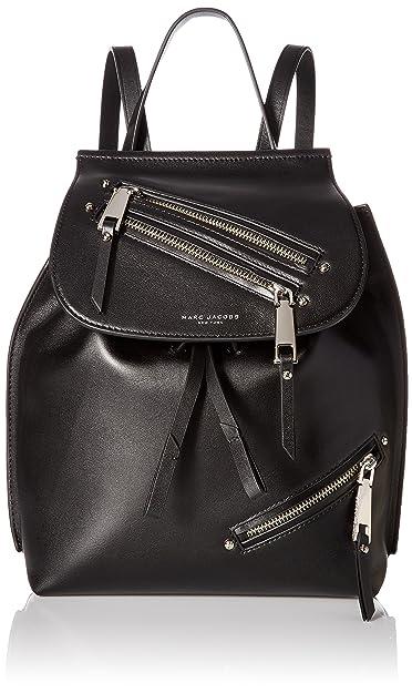 1b3a31c872e628 Marc Jacobs sac à dos femme en cuir noir  Amazon.fr  Chaussures et Sacs