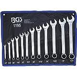 """BGS 1195 Kombinationsnycklar, Silver, 1/4""""-15/16"""""""