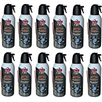Dust-Off Disposable Compressed Gas Duster, 10 oz Cans - 12 Packs