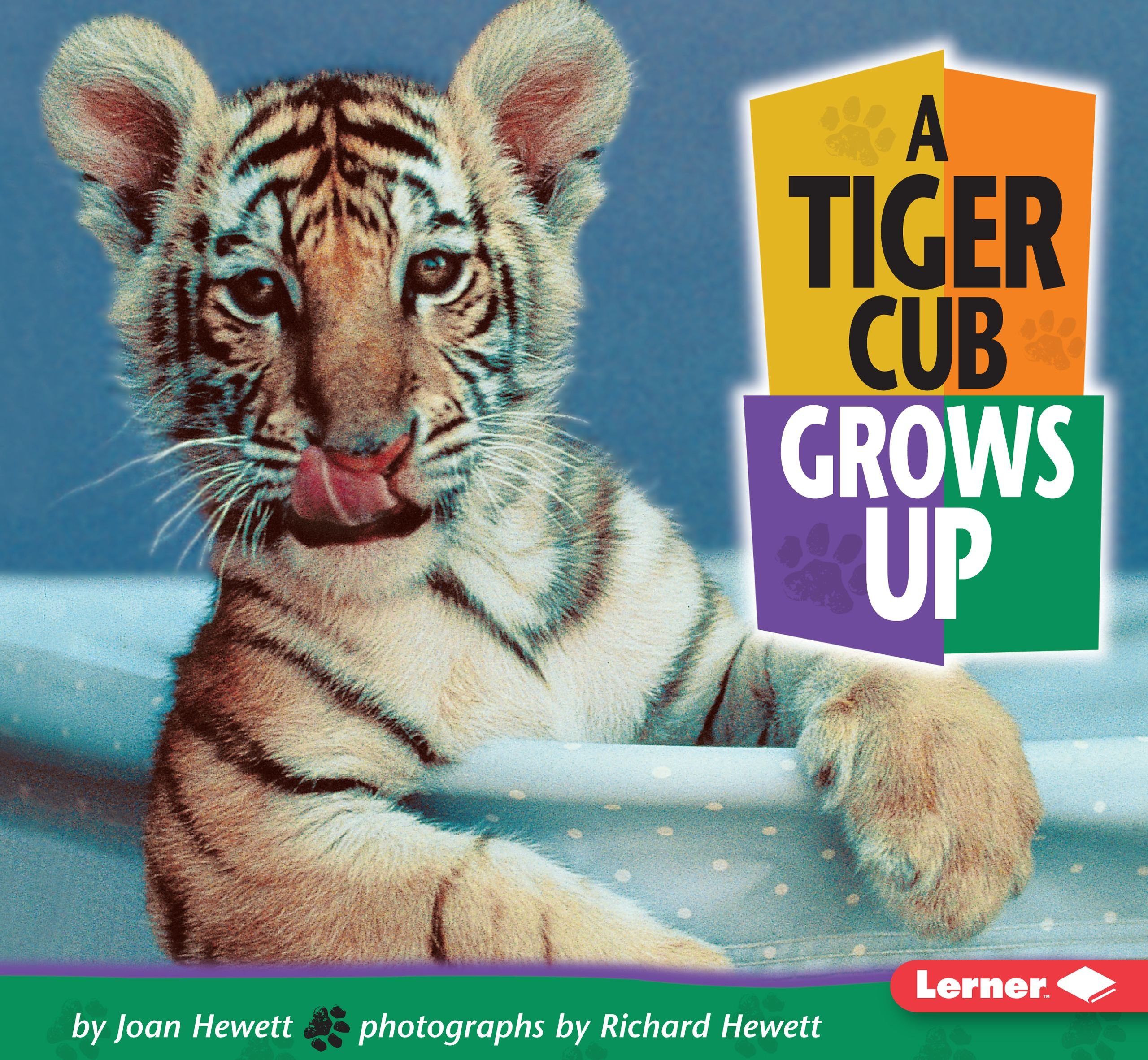Read Online A Tiger Cub Grows Up (Baby Animals) pdf