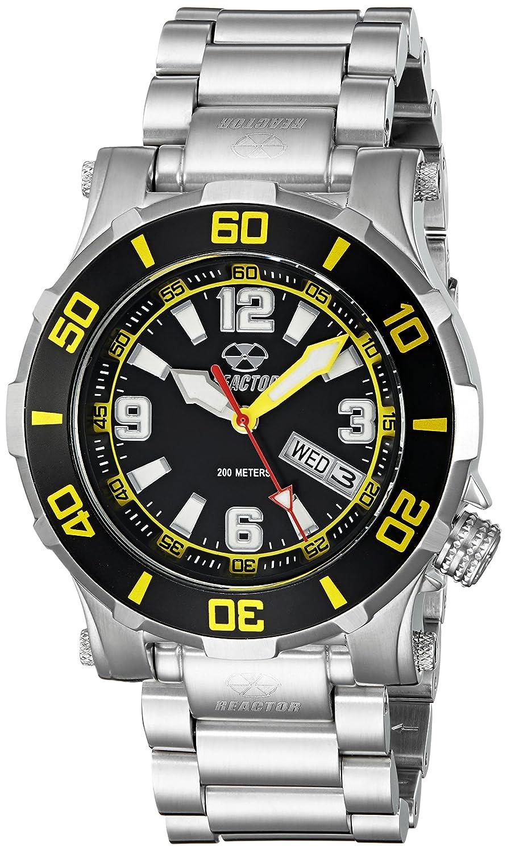 REACTOR Unisex 45509 Atlas Analog Display Quartz Black Watch