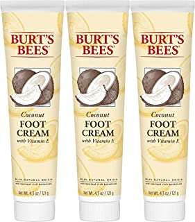 product image for Burt's Bees Coconut Oil Foot Cream, 4.34 Oz - Pack of 3 (Package May Vary)