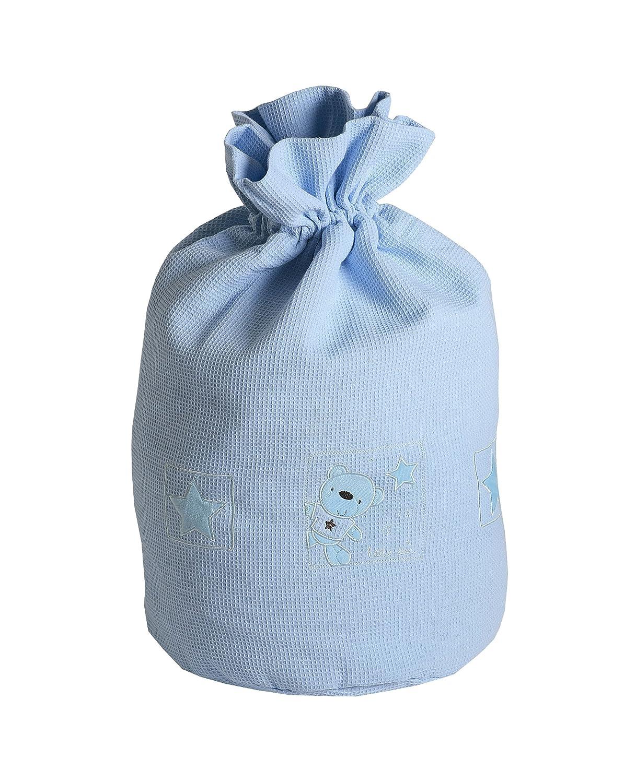 Baby Elegance Star Ted - Bolsa para ropa sucia, color azul 3127