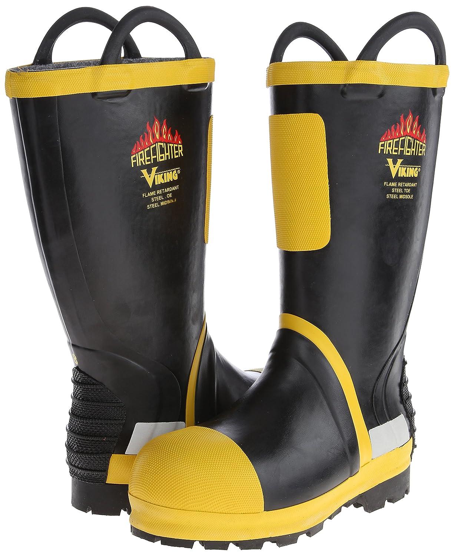079111e3984 Viking Footwear Firefighter Felt Lined Waterproof FR Boot