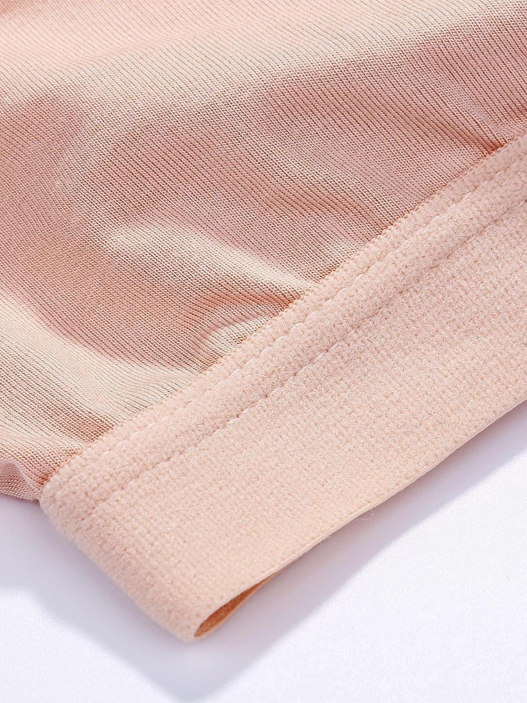 Mini Camisole Crop Top Wirefree Bra Padded Strap Cami Bra