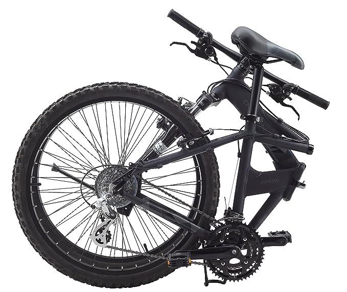 Dahon Espresso D24-Bicicleta plegable, color Gris mate: Amazon.es: Deportes y aire libre