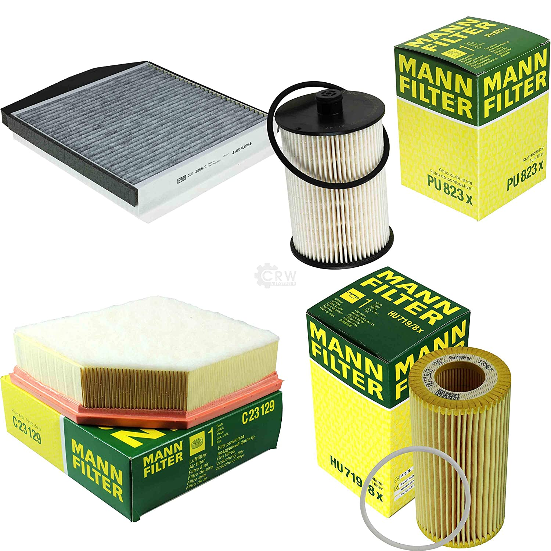 MANN-FILTER Inspektions Set Inspektionspaket /Ölfilter Kraftstofffilter