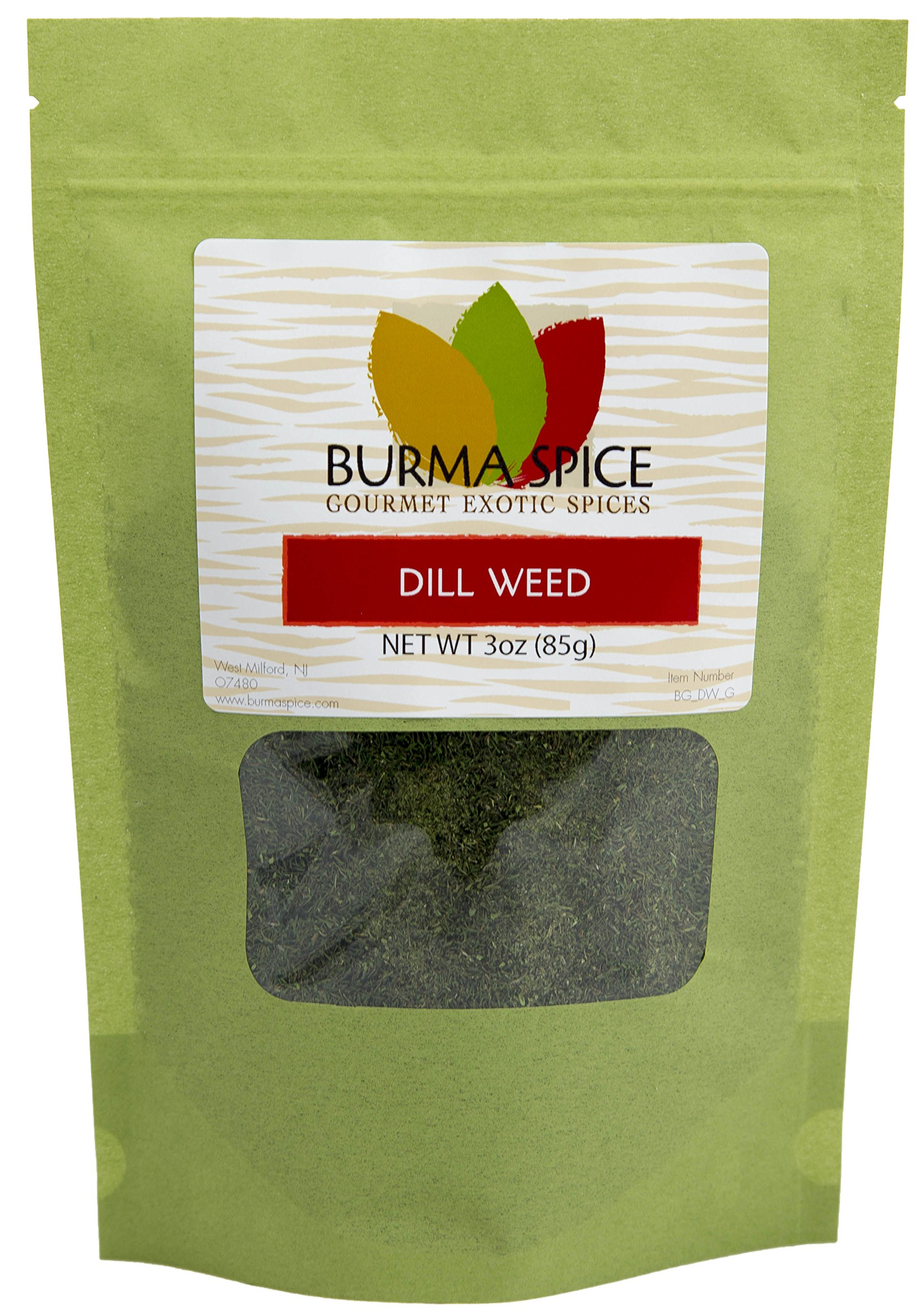 Dill Weed : Dried Natural Herb Seasoning Spice : Kosher Certified (3oz.)