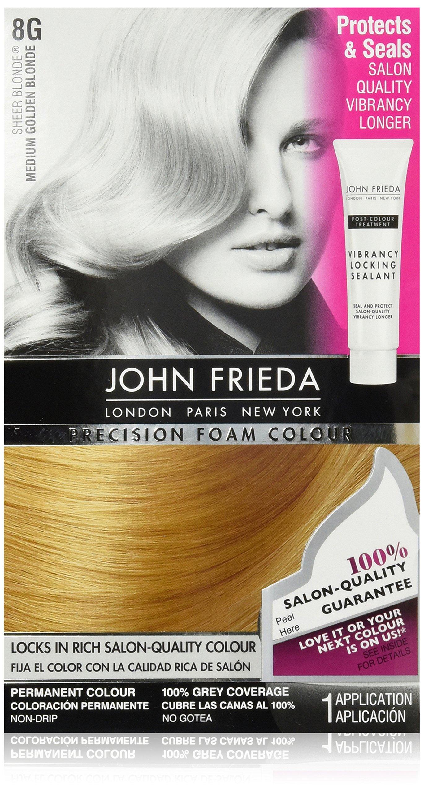 Amazon John Frieda Precision Foam Colour Medium Golden Blonde