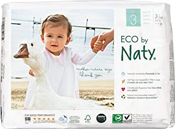 Naty By Nature Babycare Couches Taille 3 Lot De 3 Paquets 93