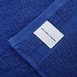 Qute Home Towels 100% Turkish Cotton Navy Blue