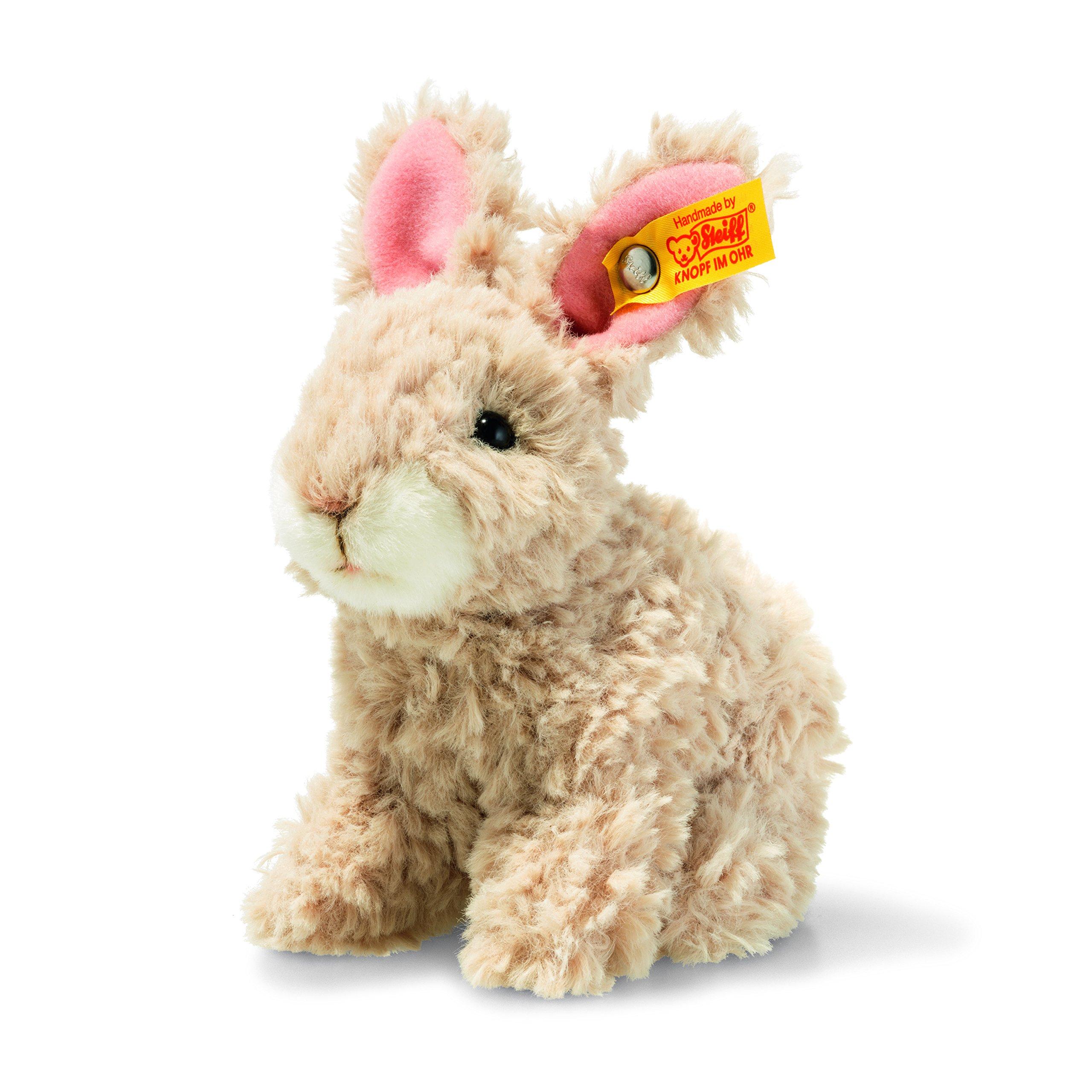 Steiff 080517 Mummel Rabbit Plush Animal Toy, Beige by Steiff