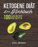 Ketogene Diät – Das Kochbuch: 100 leckere Rezepte für eine ketogene Ernährung - Gesund Fett verbrennen ohne Hunger und Kohlenhydrate - mit Grundlagen, Ernährungsplan & Nährwerttabellen