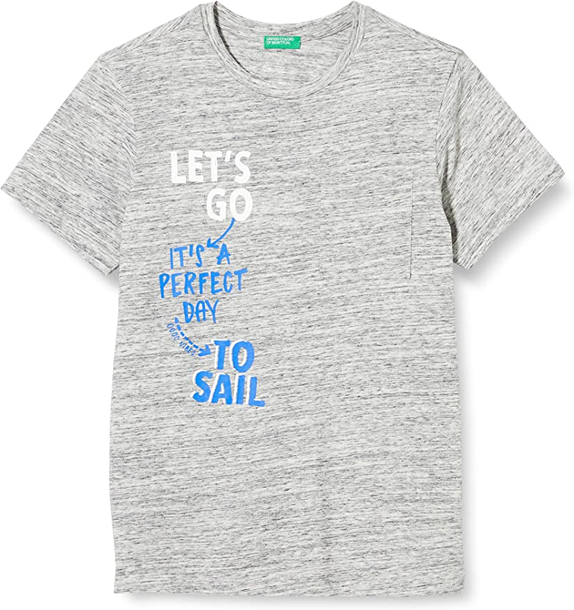 United Colors of Benetton Camiseta para Ni/ños