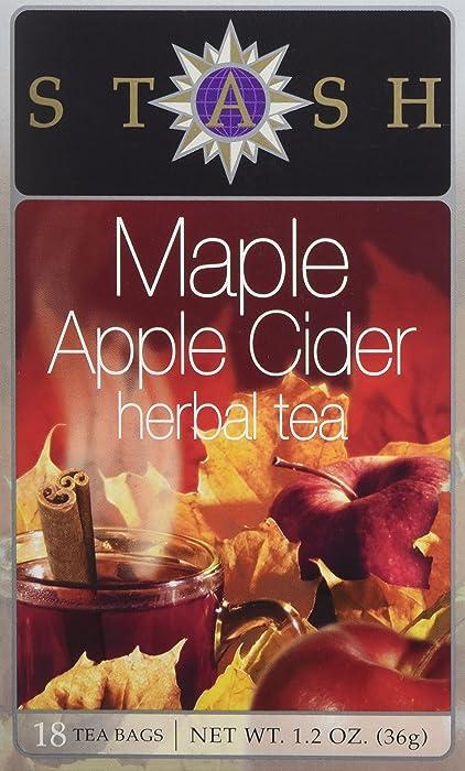 Stash Tea, Tea Bag Maple Apple Cider, 18 Count