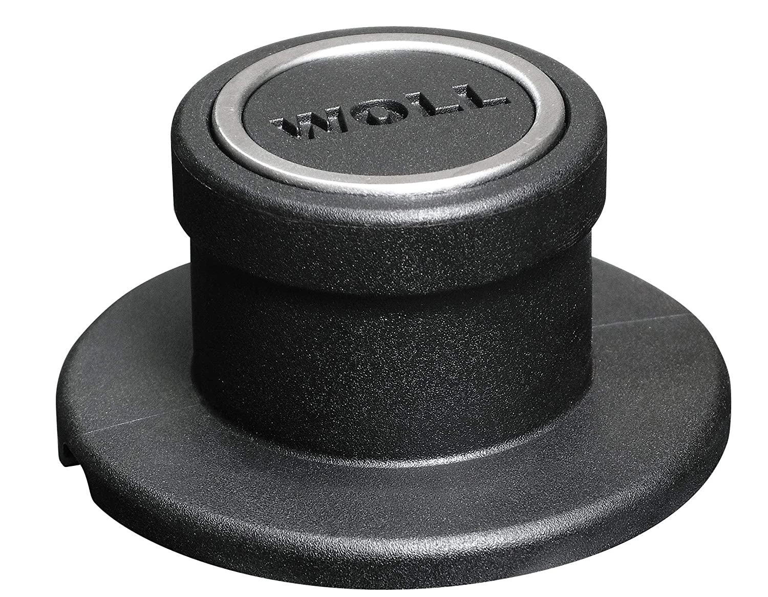 Woll Tempered Glass with Stainless Steel Rim and Vented Knob Round Lid Clear 8 WS20M 8