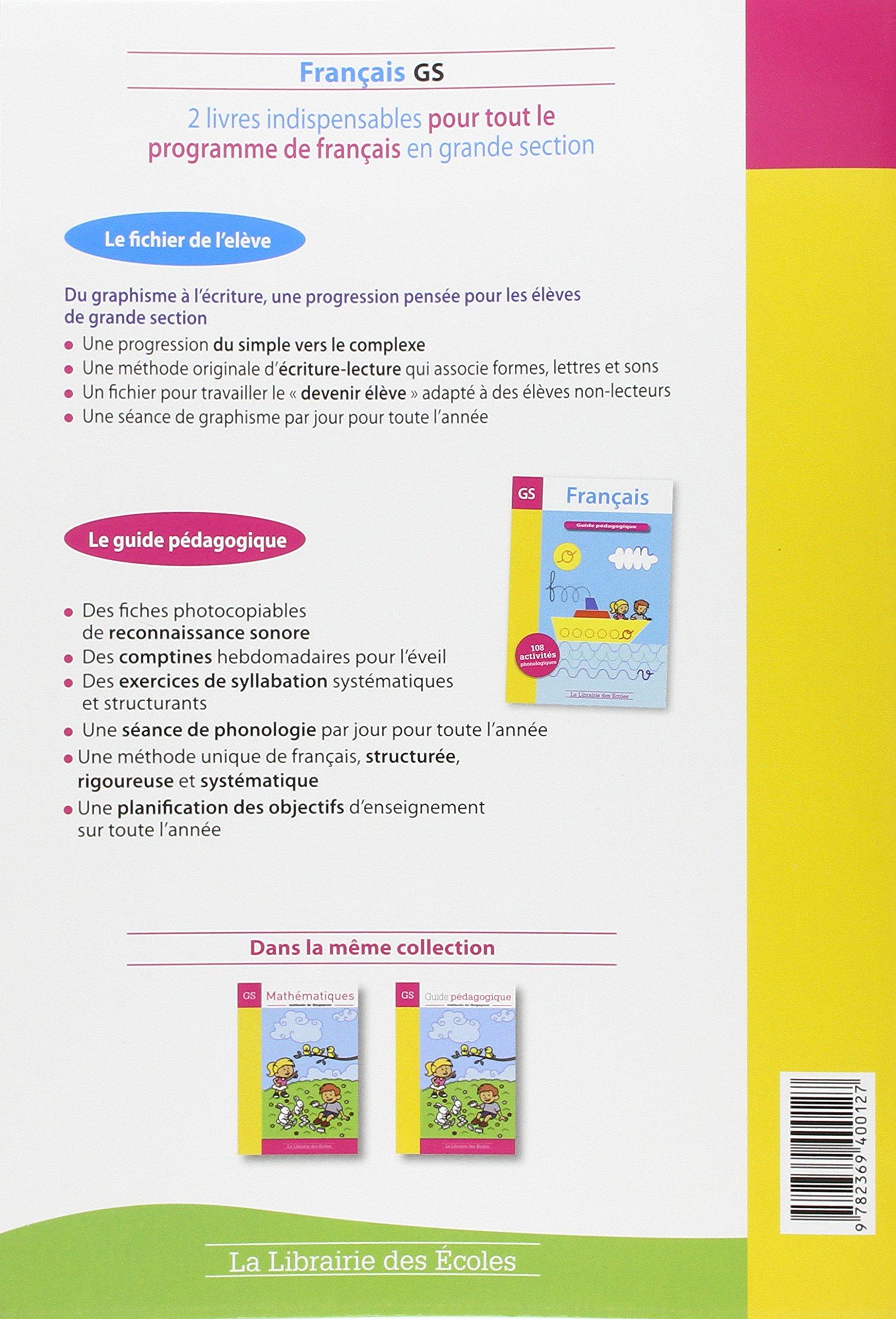 Amazon.fr - Français GS - Marc Le Bris, Cathy Le Bris, Philippe Gady -  Livres